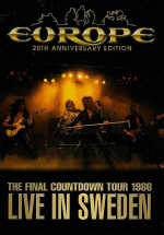 Europe - 20th Anniversary Edition - The Final Countdown Live In Sweden (DVD)