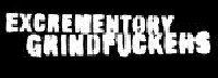 Logo Excrementory Grindfuckers